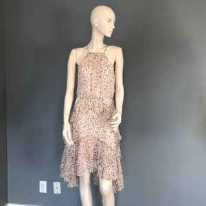 NWT Joie Lamberta Halter Floral Dress Sz 6